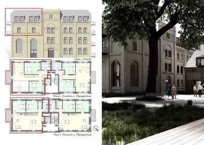 Licht durchflutete DG – Maisonette mit sechs Zimmern und zwei Balkonen
