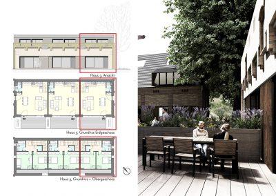Charmante Maisonette mit großer Süd-West-Terrasse und Balkon