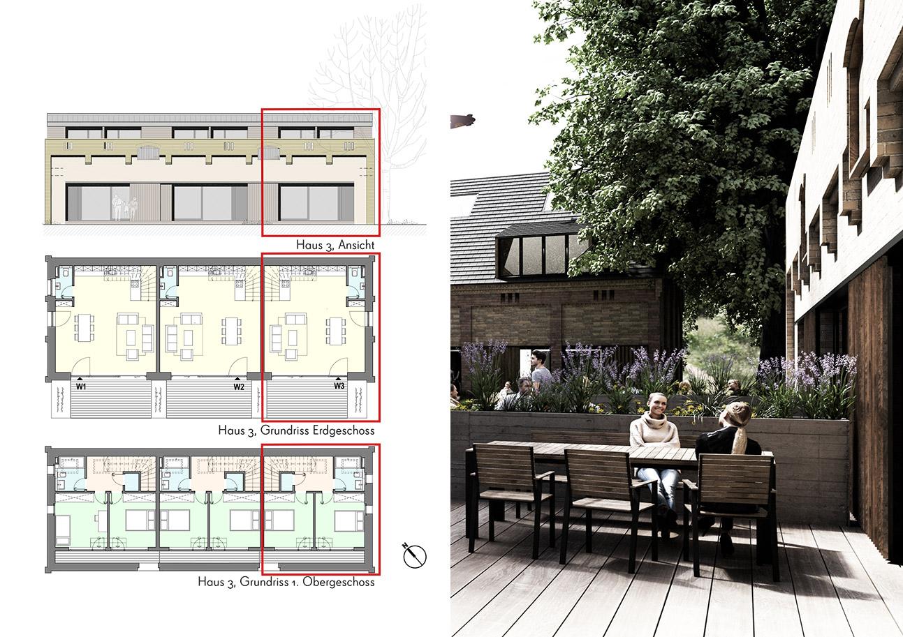 Alte Brauerei Templin - Haus 3, Wohnung 3