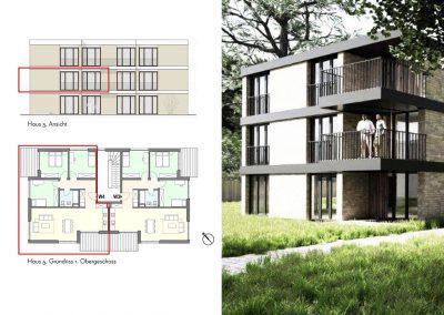 Sonnige Vierzimmerwohnung mit zwei Balkonen