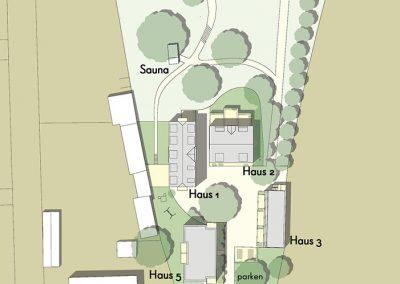 Baugruppe Alte Brauerei Templin - Lageplan