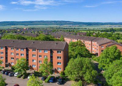 Hildesheim nahe Universität: Attraktive Kapitalanlage-Wohnungen in hübschem Klinkerbau-Ensemble