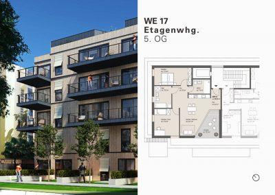 Großzügige Dachgeschoss-Wohnung mit schöner Sonnenterrasse