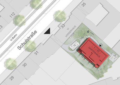 Baugruppe Schulstraße - Lageplan