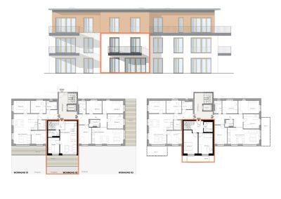Charmante Maisonette mit Terrasse, Balkon und Gärtchen