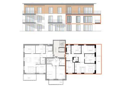 Schöne Fünfzimmerwohnung mit Süd-West-Ausrichtung